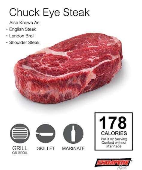 chuck eye steak beef stede meat inc