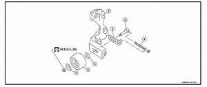 Nissan Versa  Drive Belt Idler Pulley