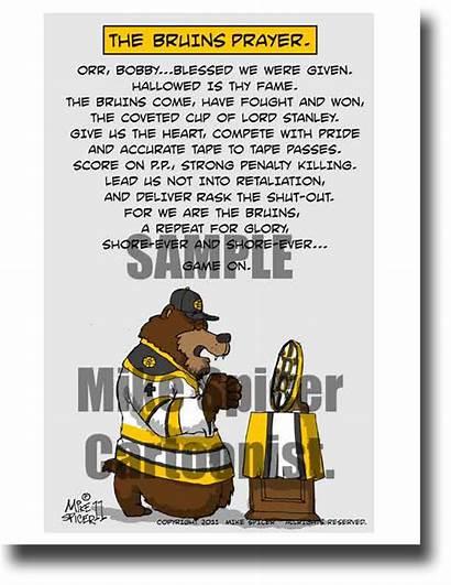 Hockey Prayer Bruins Spicer Mike
