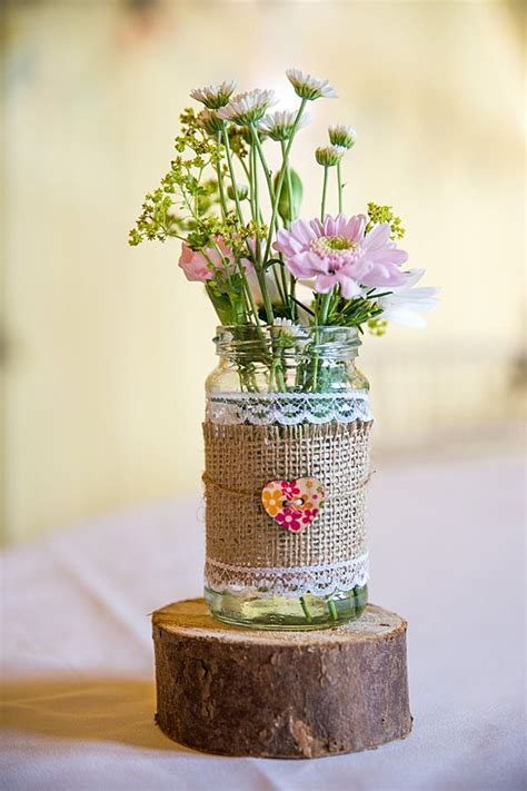 rustic country homemade wedding tables homemade