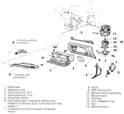 auto air conditioning service 1996 mitsubishi mirage engine control repair guides heating and air conditioning blower motor autozone com