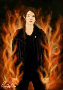 Katniss Everdeen Girl On Fire