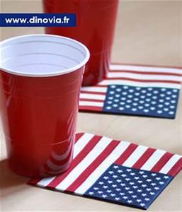 Decoration De Table Americaine