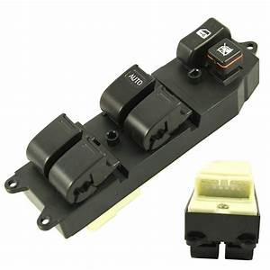 Power Master Window Switch Front Lh Driver Side For Toyota