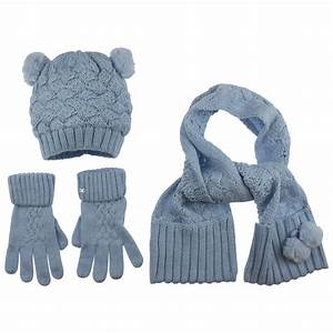 Mayoral Baby Blue Hat Scarf And Glove Set Baby Boy From