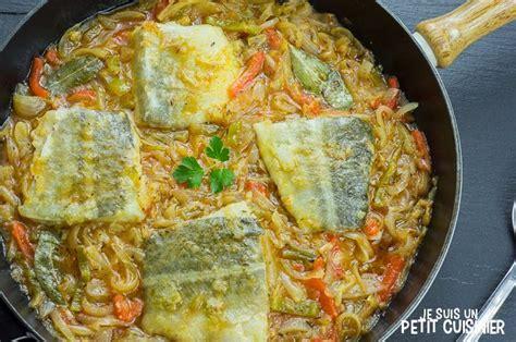 comment cuisiner la morue recette de morue aux oignons à la façon des îles canaries