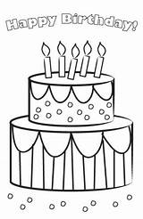 Birthday Printable Cards Coloring Card Pages Cake Lovetoknow Freeble Bathroom Printables Imwithphil Agile January Posted sketch template