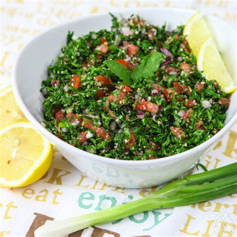 fresh light recipes fresh light authentic lebanese tabbouleh colorful recipes