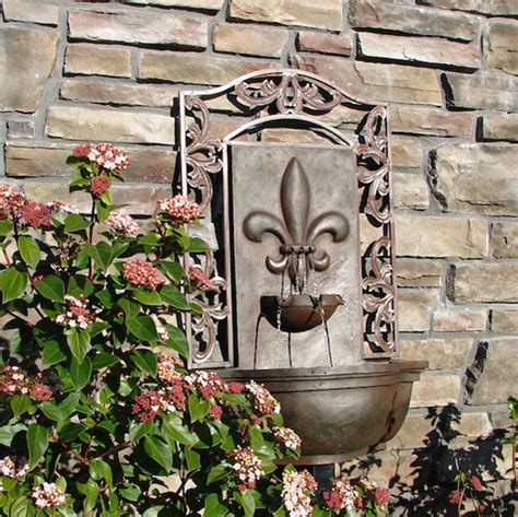 wall garden fountains outdoor www imgkid the image