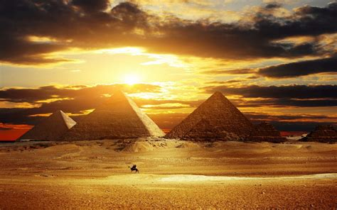 pyramid sunset wallpapers hd desktop  mobile backgrounds