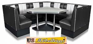 Us Diner Möbel : hw 60 60 red american dinerbank eckbank diner b nke m bel 50 s retro usa style ebay ~ Markanthonyermac.com Haus und Dekorationen