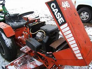 Case  U2013 Ingersoll Garden Tractor Repair And Repower Repower