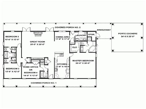 1 level house plans eplans ranch house plan single southern
