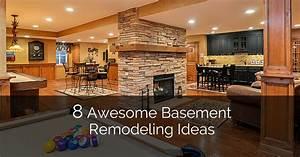 8, Awesome, Basement, Remodeling, Ideas, Plus, A, Bonus, 8