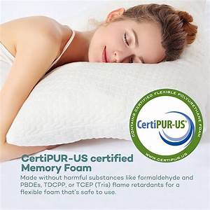 memory foam pillow with bamboo cover at a great price With bamboo pillow near me