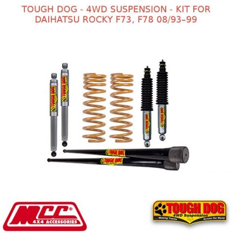 Daihatsu Rocky Lift Kit by Tough 4wd Suspension Kit For Daihatsu Rocky F73