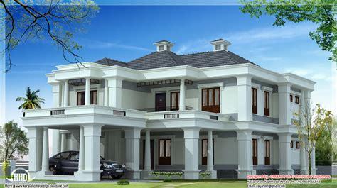luxury kerala home plan  sqfeet indian house plans