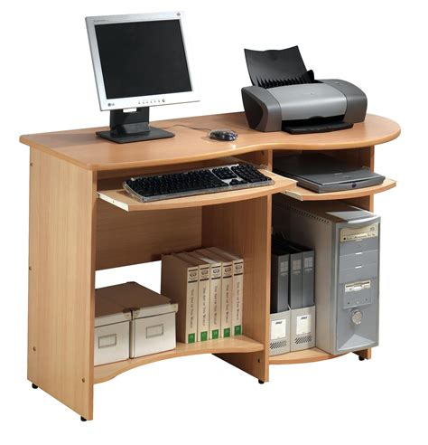 home office computer desks with shelves and computer tables