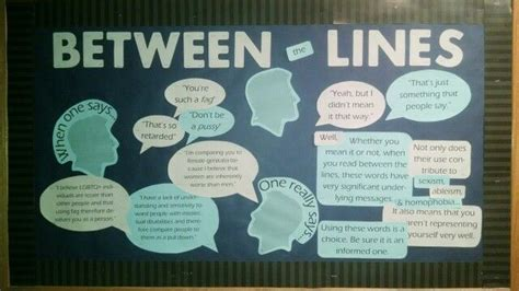 Ra Bulletin Board About Inclusive Language.