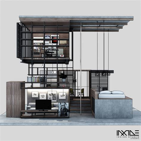 home layout compact modern house made from affordable materials