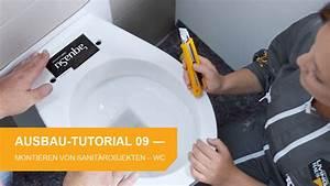 Waschbecken Selbst Montieren : ausbau tutorial 9 und 10 wc und waschbecken montieren ~ Markanthonyermac.com Haus und Dekorationen