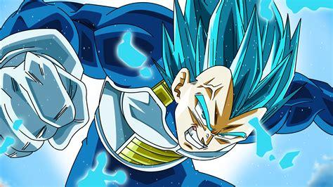 vegeta super saiyan blue dragon ball super