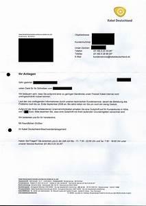 Fehlende Rechnung : beschwerde bei kabel deutschland bringt eine 50 euro gutschrift ~ Themetempest.com Abrechnung