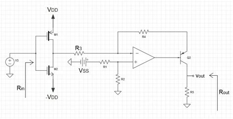 Mosfet Complex Circuit Analysis Electrical Engineering