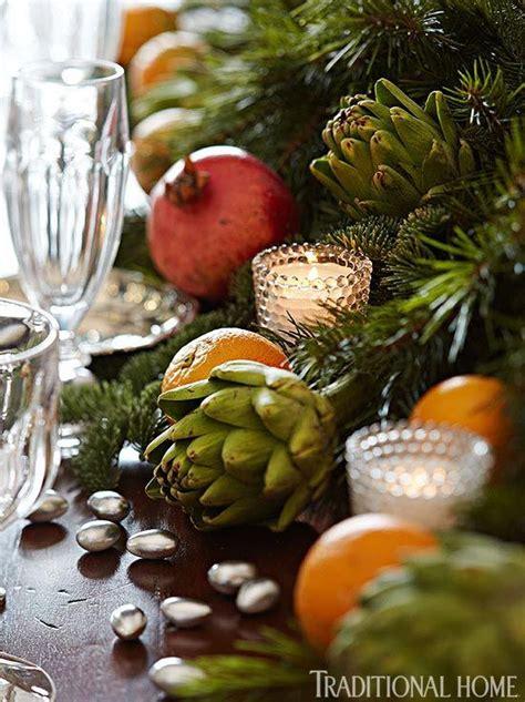 Formal Dinner Timothy Corrigan by Fresh Greens With Artichokes Pomegranites Satsuma