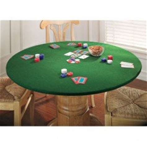 round felt game table cover poker card table foter