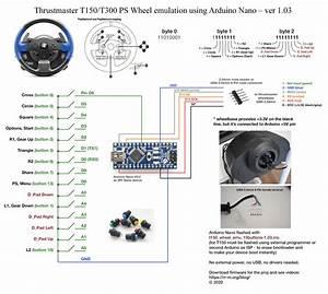 Custom Steering Wheel For Thrustmaster T150
