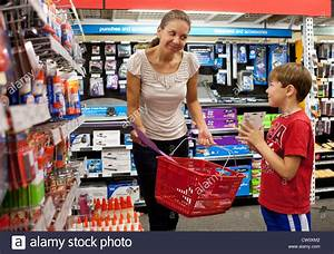 The Back Store : hispanic mom takes her 7 and 8 year old son shopping for first grade stock photo 49808082 alamy ~ Markanthonyermac.com Haus und Dekorationen