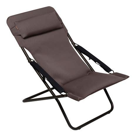 chaise longue pliante lafuma pas cher chilienne lafuma wikilia fr