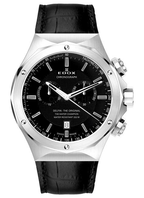 Edox Delfin The Original Chronograph 10105 3 Nin  Gents Watch