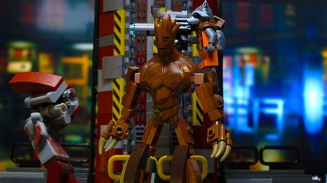 groot  lego marvel super heroes