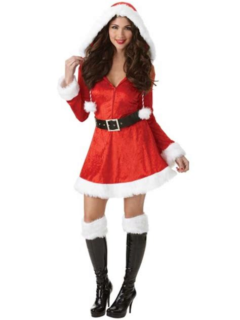 miss sassy santa costume sexy ladies father christmas