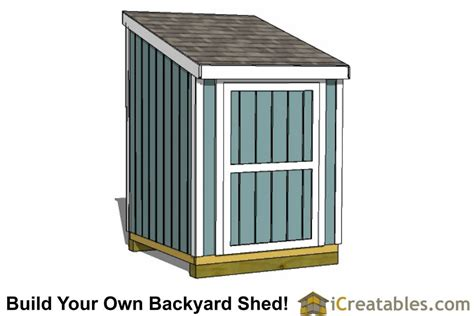 6x6 lean to shed plans 6x6 backyard shed design