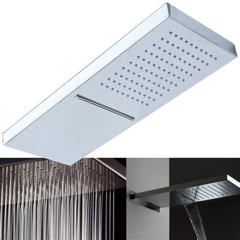 soffione doccia prezzi soffione doccia a led ed high tech prezzi e modelli