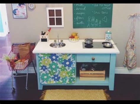 Cheap Diy Play Kitchen!  Youtube