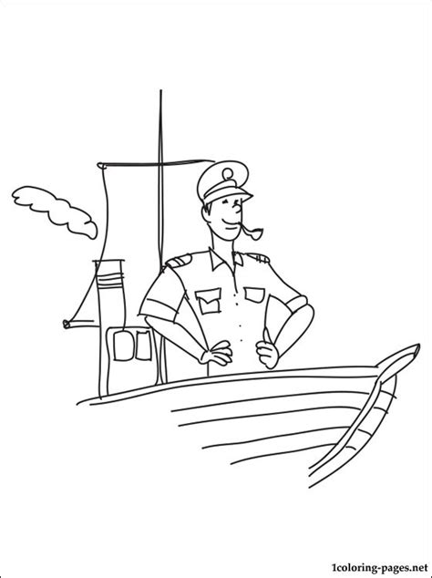 pilot coloring page coloring pages