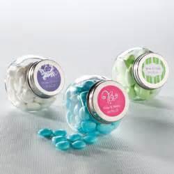 personalized jars for wedding favors jar favor with personalized label wedding favors