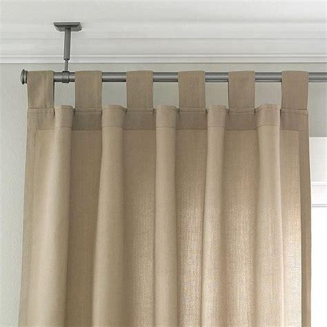 patio window curtains ceiling mount curtain rod ideas homesfeed