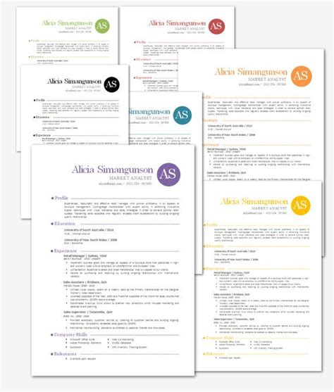 modern microsoft word resume template simangunson