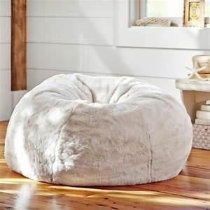 Gros Pouf Rond : le pouf g ant un coussin de sol amusant et confortable ~ Teatrodelosmanantiales.com Idées de Décoration