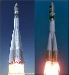 The launch of Vostok spacecraft