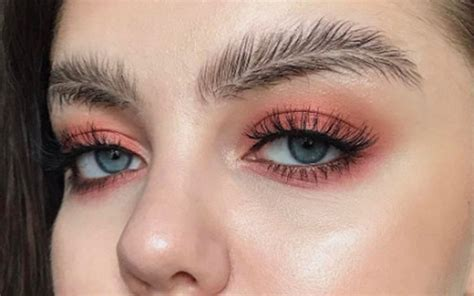 is this the strangest eyebrow trend we ve ever seen