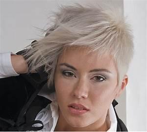 Coupe Cheveux Asymétrique : coupe asym trique courte ~ Melissatoandfro.com Idées de Décoration