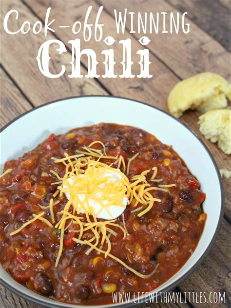 cook  winning chili life   littles