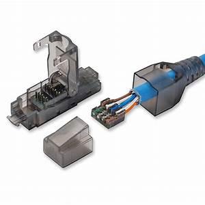 Cat 5 Cat 6 : rj45 cat 6 utp field connector modular plug free of crimping design compatible with ~ Eleganceandgraceweddings.com Haus und Dekorationen