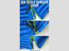 How To Fix A Separated Zipper Oh My Creative
